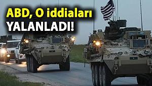 ABD, Suriye'ye ek asker gönderildiği iddialarını yalanladı
