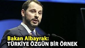 Bakan Albayrak: Türkiye özgün bir örnek