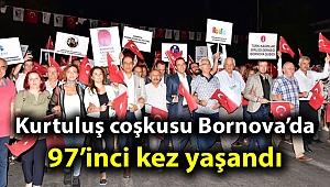 Kurtuluş coşkusu Bornova'da 97'inci kez yaşandı