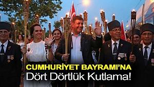 Cumhuriyet Bayramı'na dört dörtlük kutlama!