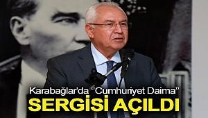 Karabağlar'da Cumhuriyet Daima Sergisi açıldı