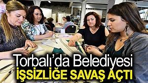 Torbalı'da belediye, işsizliğe savaş açtı