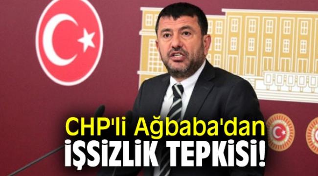 CHP'li Ağbaba'dan işsizlik tepkisi!