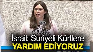 İsrail: Suriyeli Kürtlere yardım ediyoruz