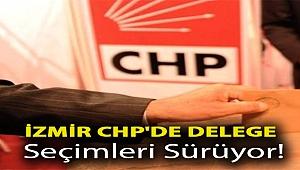 İzmir CHP'de delege seçimleri sürüyor