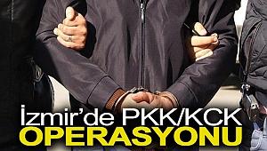 İzmir'de PKK/KCK operasyonu