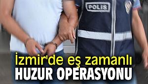 İzmir İl Jandarma Komutanlığı'ndan huzur operasyonu