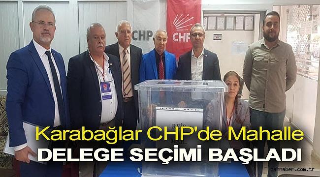 Karabağlar CHP'de mahalle delege seçimi başladı