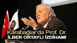 Karabağlar'da Prof. Dr. İlber Ortaylı İzdihamı