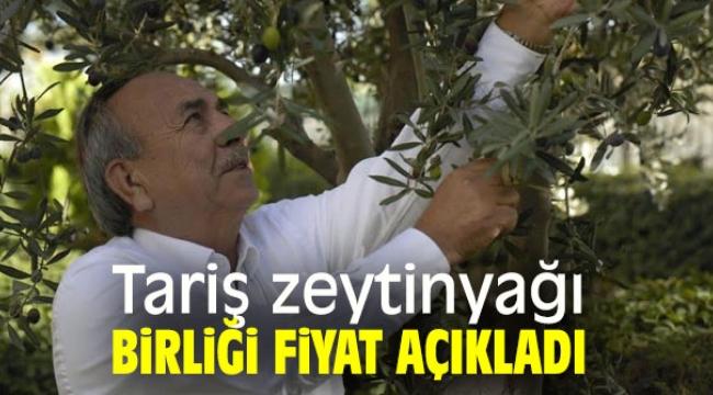 Tariş zeytinyağı fiyatını belirledi…