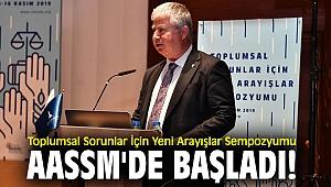 """""""Yeni Arayışlar Sempozyum"""" AASSM'de başladı!"""
