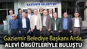 Gaziemir Belediye Başkanı Arda, Alevi örgütleriyle buluştu