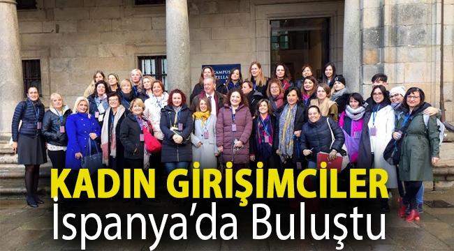Kadın girişimciler İspanya'da buluştu