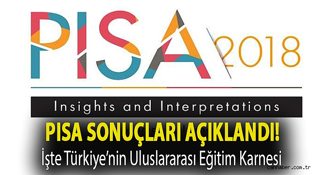PISA sonuçları açıklandı! İşte Türkiye'nin uluslararası eğitim karnesi