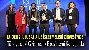 TAİDER 7. Ulusal Aile İşletmeleri Zirvesi'ndeTürkiye'deki girişimcilik ekosistemi konuşuldu