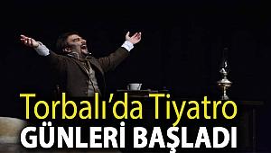 Torbalı'da Tiyatro Günleri başladı