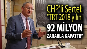 TRT 2018 yılını 92 milyon zararla kapattı!