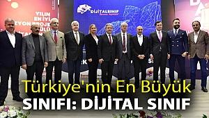 Türkiye'nin en büyük sınıfı: Dijital Sınıf
