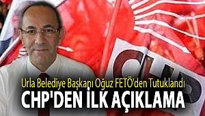 Urla Belediye Başkanı İbrahim Burak Oğuz FETÖ'den tutuklandı CHP'den ilk açıklama