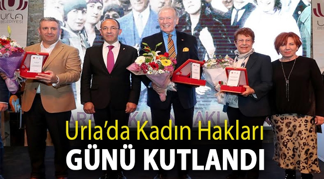 Urla'da Kadın Hakları Günü Kutlandı
