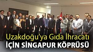 Uzakdoğu'ya Gıda İhracatı için Singapur Köprüsü