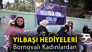 Yılbaşı hediyeleri Bornovalı kadınlardan