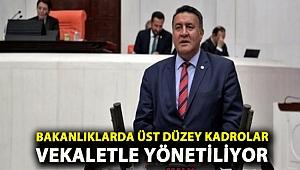 CHP'li Gürer, bakanlık kadrolarını sordu!