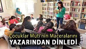 Çocuklar Muti'nin maceralarını yazarından dinledi