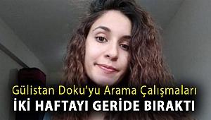 Gülistan Doku'yu arama çalışmaları iki haftayı geride bıraktı