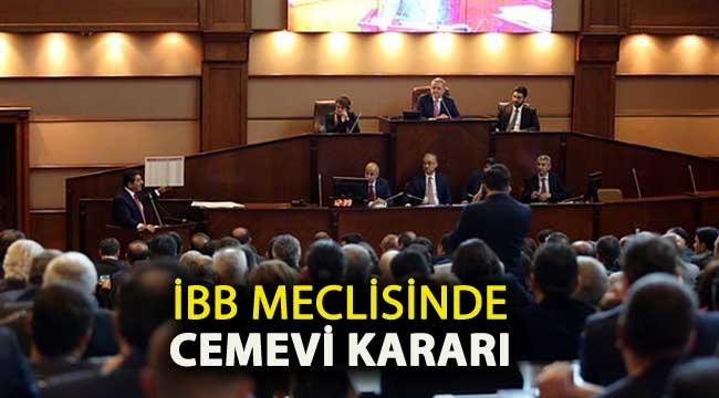 İstanbul'da cemevlerine ibadethane statüsü verilmesi kararı AKP ve MHP'nin oylarıyla reddedildi