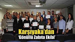 Karşıyaka'dan 'Gönüllü Zabıta Ekibi'