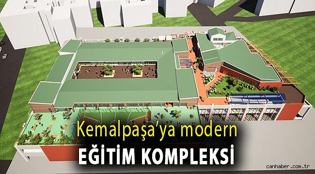 Kemalpaşa'ya modern eğitim kompleksi