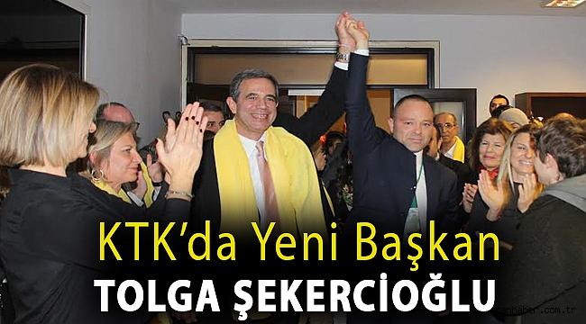 KTK'da yeni başkan Tolga Şekercioğlu