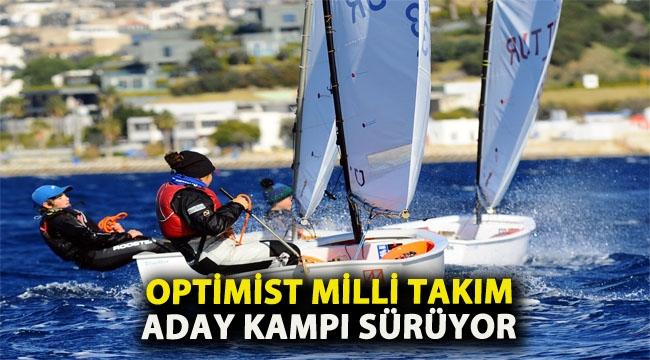 Optimist Milli Takım Aday Kampı sürüyor