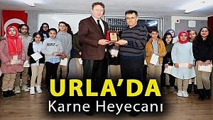 Urla'da karne heyecanı