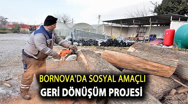 Bornova'da sosyal amaçlı geri dönüşüm projesi
