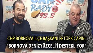 CHP Bornova İlçe Başkanı Ertürk Çapın: