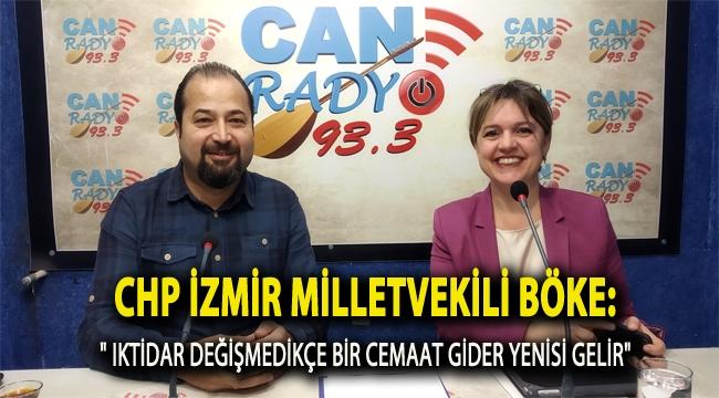 CHP İzmir Milletvekili Böke:
