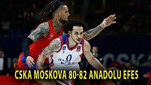 CSKA Moskova 80-82 Anadolu Efes
