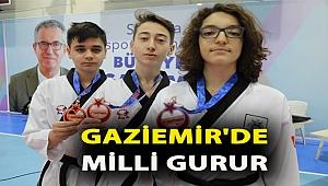 Gaziemir'de milli gurur