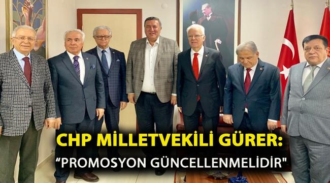 """Gürer, """"Promosyon Güncellenmelidir."""""""