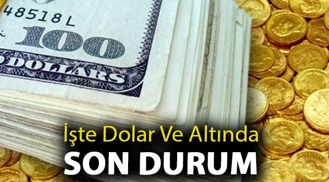 İşte dolar ve altında son durum