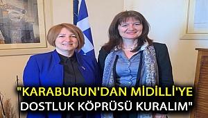 Karaburun'dan Midilli'ye turizm ve dostluk köprüsü