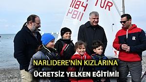 NARLIDERE'NİN KIZLARINA ÜCRETSİZ YELKEN EĞİTİMİ!