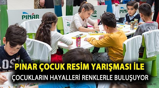 Pınar Çocuk Resim Yarışması ile Çocukların Hayalleri Renklerle Buluşuyor