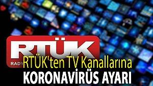 RTÜK'ten TV kanallarına koronavirüs ayarı