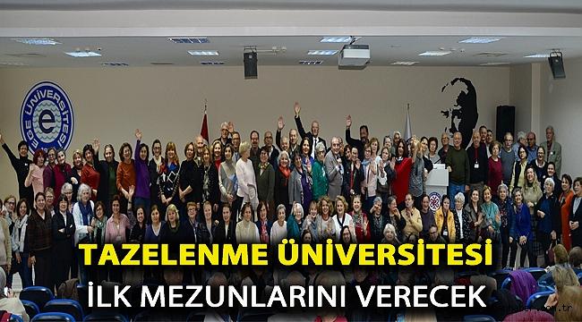 Tazelenme Üniversitesi ilk mezunlarını verecek