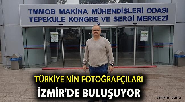 Türkiye'nin fotoğrafçıları İzmir'de buluşuyor…