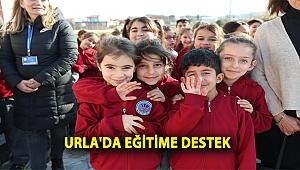 Urla'da Eğitime Destek