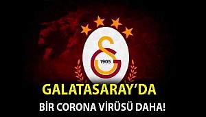 Galatasaray'da bir corona virüsü daha!